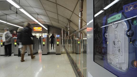 Desfibrilador DOC_ Metro Bilbao