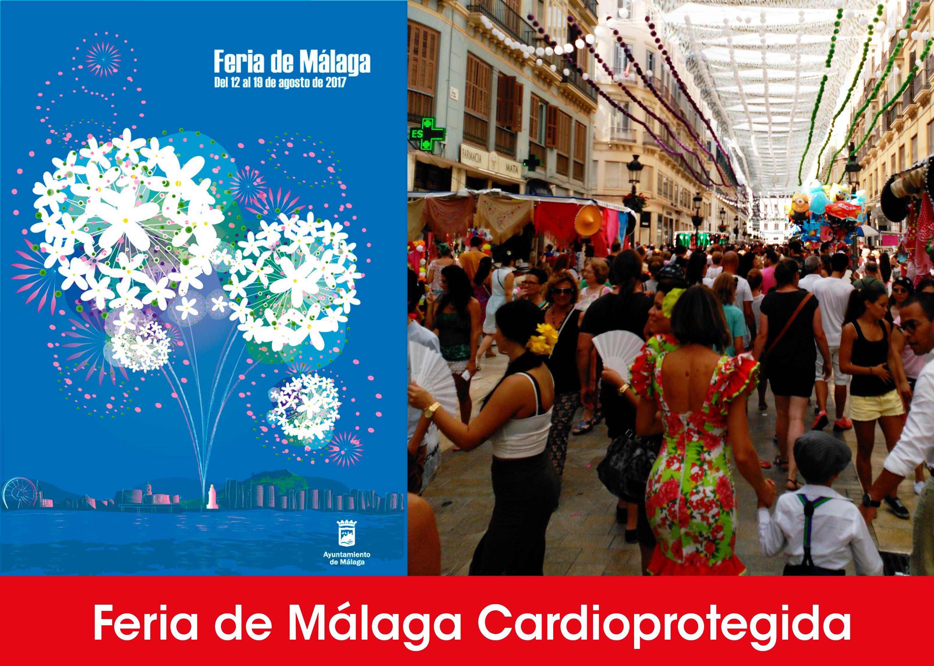 La feria de m laga cardioprotegida por proyecto vida for Feria outlet malaga 2017