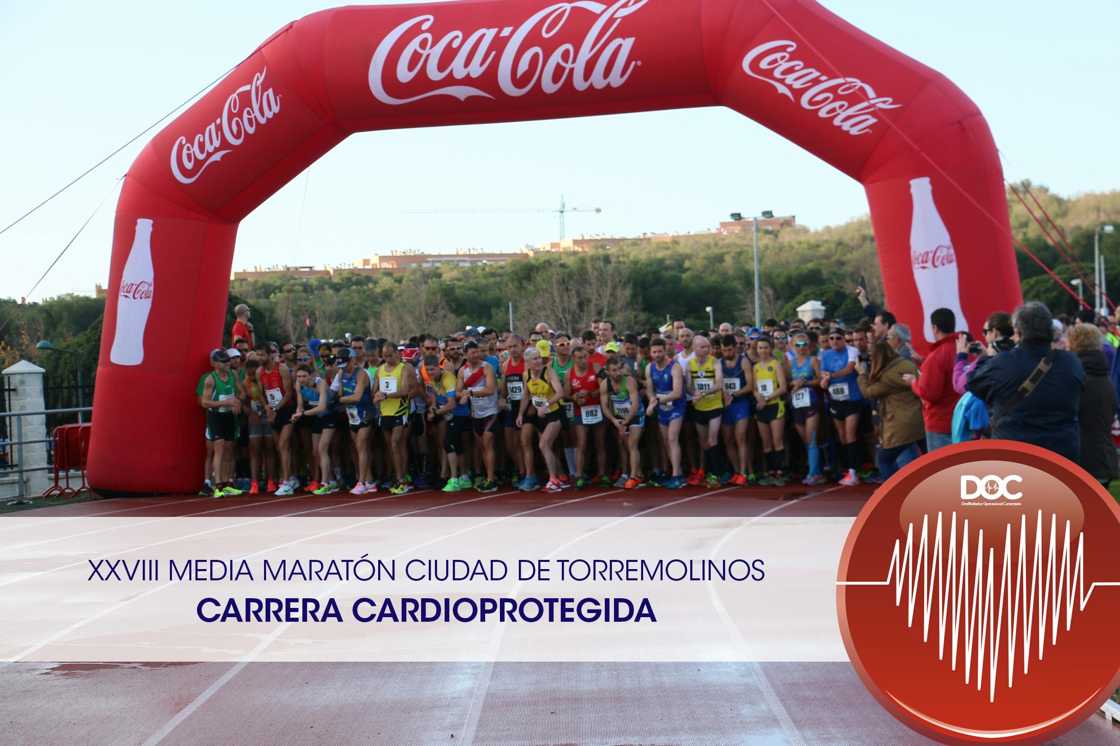 XXVIII Media Maraton Ciudad de Torremolinos_CARDIOPROTEGIDA_DESFIBRILADORES