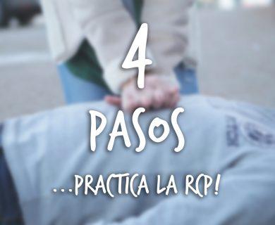 RCP en 4 pasos