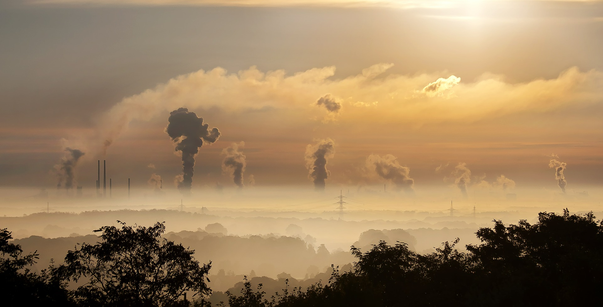 contaminación por humo